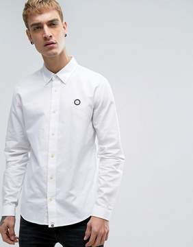 Pretty Green Oxford Shirt in White