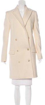 Calvin Klein Collection Wool Notch-Lapel Coat