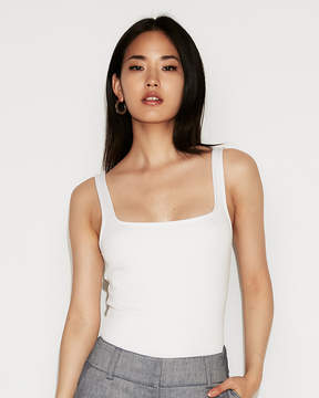 Express Fitted Square Neck Essential Tank