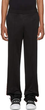 Givenchy Black Logo Band Lounge Pants