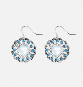 Avenue Turquoise Flower Earrings