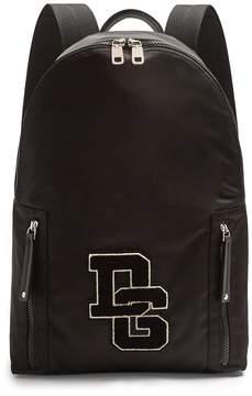 Dolce & Gabbana Logo-applique zip-around backpack