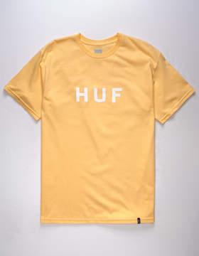 HUF OG Logo Peach Mens T-Shirt