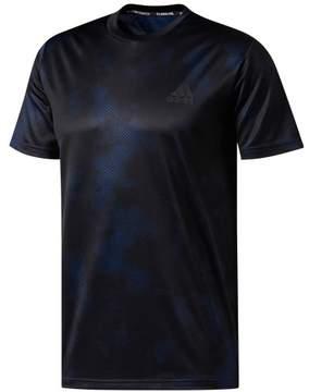 adidas Mens Printed Basic T-Shirt Black L