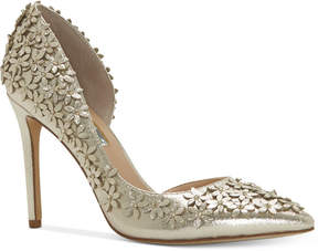 INC International Concepts Women's Karlay Floral Embellished Evening Pumps, Created for Macy's Women's Shoes