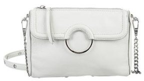Rebecca Minkoff Ring-Accented Crossbody Bag - WHITE - STYLE