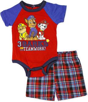 Nickelodeon 2-pc. Paw Patrol Bodysuit Set Newborn Boys