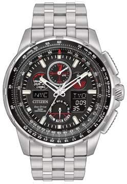 Citizen Men's JY8050-51E Skyhawk A-T Stainless Steel Watch, 47mm