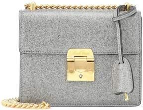 Mark Cross Zelda glittered shoulder bag