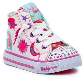 Skechers Shuffles - Twist N Turns Hi-Top Sneaker (Toddler)