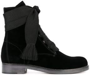 Chloé velvet 'Harper' boots