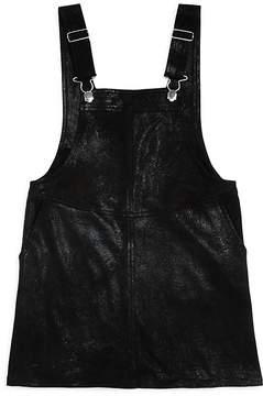 Blank NYC BLANKNYC Girls' Overalls-Style Dress - Big Kid