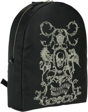 Alexander McQueen Heraldic Details Skull Backpack