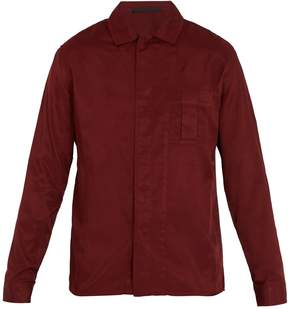 Haider Ackermann Single-cuff cotton-blend shirt