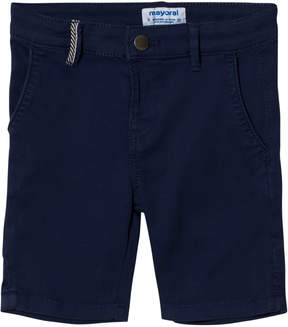 Mayoral Navy Stretch Chino Shorts