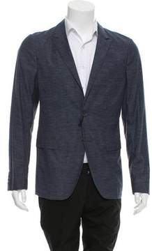 Calvin Klein Collection Deconstructed Two-Button Blazer w/ Tags