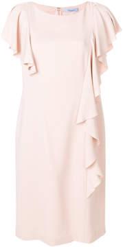 Blumarine ruffled mini dress