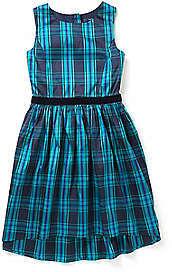 Nautica Girls' Plaid Taffeta Dress (8-16)