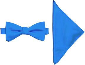 Jf J.Ferrar JF Pre-Tied Bow Tie with Pocket Square