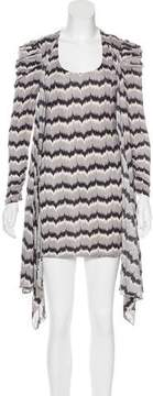 ALICE by Temperley Abstract Print Long Sleeve Dress