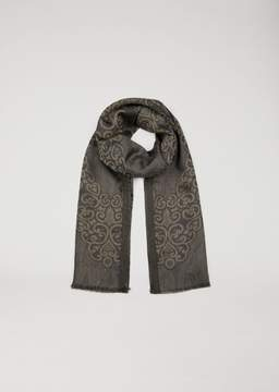 Emporio Armani Scarf With Abstract Motif