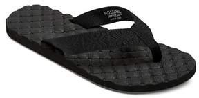 Mossimo Women's Raelynn Flip Flop Sandals Black