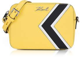Karl Lagerfeld K/Stripes Camera Bag