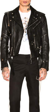 Alexander McQueen Leather Biker