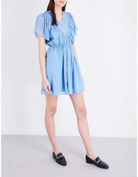 Claudie Pierlot Riri silk-blend dress