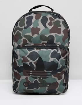 adidas Classic Backpack In Camo BQ6084