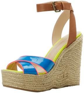 Enzo Angiolini Women's Nomas Wedge Sandal.