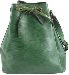 Louis Vuitton Noé leather handbag - GREEN - STYLE