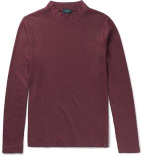 Incotex Brushed Pima Cotton-Jersey T-Shirt