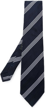 Etro diagonal stripes tie