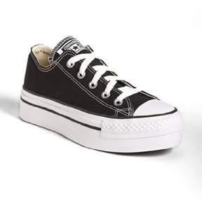 Converse Chuck Taylor All Star Lo Platform,Black/White,US 5.5 M