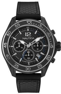 Nautica MEN'S WATCH NMX 1600 CARBON FIBER 47MM