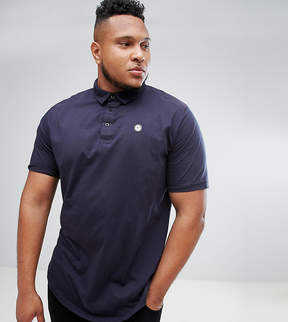 Le Breve PLUS Curved Hem Polo with Back Panelling