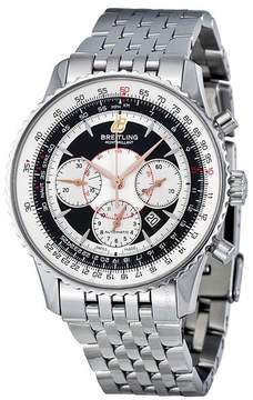 Breitling Montbrillant Chronograph Automatic Black Dial Men's Watch