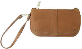 Piel Women's Leather Wristlet Bag 2597