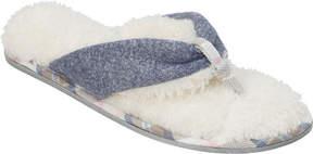 Dearfoams Casual Knit Thong Slipper (Women's)