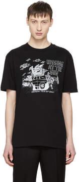 McQ Black Hissing At The Sun T-Shirt