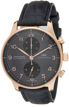 IWC Men's Portuguese Chronograph Watch