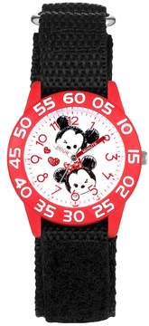 Disney Disney's Tsum Tsum Mickey & Minnie Mouse Kids' Time Teacher Watch