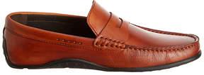 Donald J Pliner Saddle Igor Dipped Leather Loafer - Men