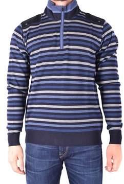 Paul & Shark Men's Light Blue/blue Wool Sweater.