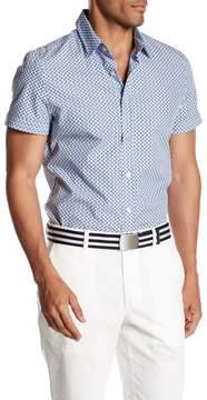 Parke & Ronen Print Short Sleeve Regular Fit Shirt