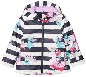 Joules Kids Printed Rubber Coat Girl's Coat