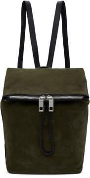 Rag & Bone Green Suede Loner Backpack
