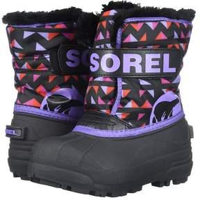 Sorel Snow Commander Print Girls Shoes