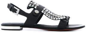 Baldinini studded open toe sandals